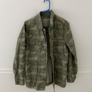 Women's American Eagle Camo Jacket